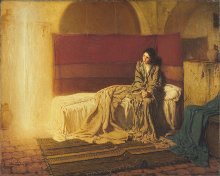Painting of the Annunciation